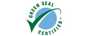 green seal certified products badge